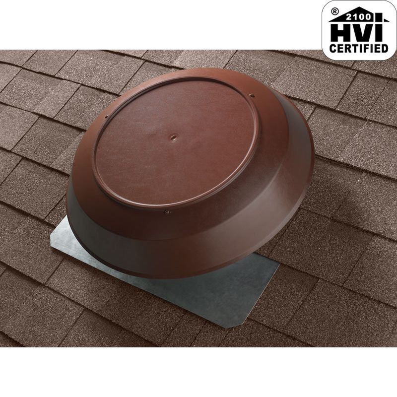 Broan 355br Brown Roof Mounted Powered Attic Fan 1200 Cfm
