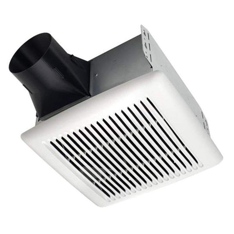 Shop Broan 0 3 Sone 110 Cfm White Bathroom Fan Energy Star: Broan A110 White InVent Series 110 CFM 3 Sone Ceiling
