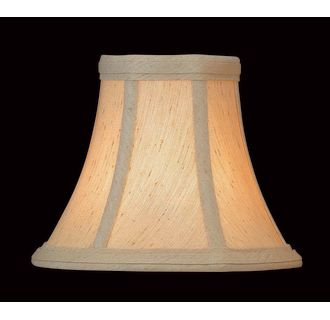 Lite Source Ch511 6 Soft Glow Croissant 5 Height Small Soft Glow Croissant Bell Candelabra Shade
