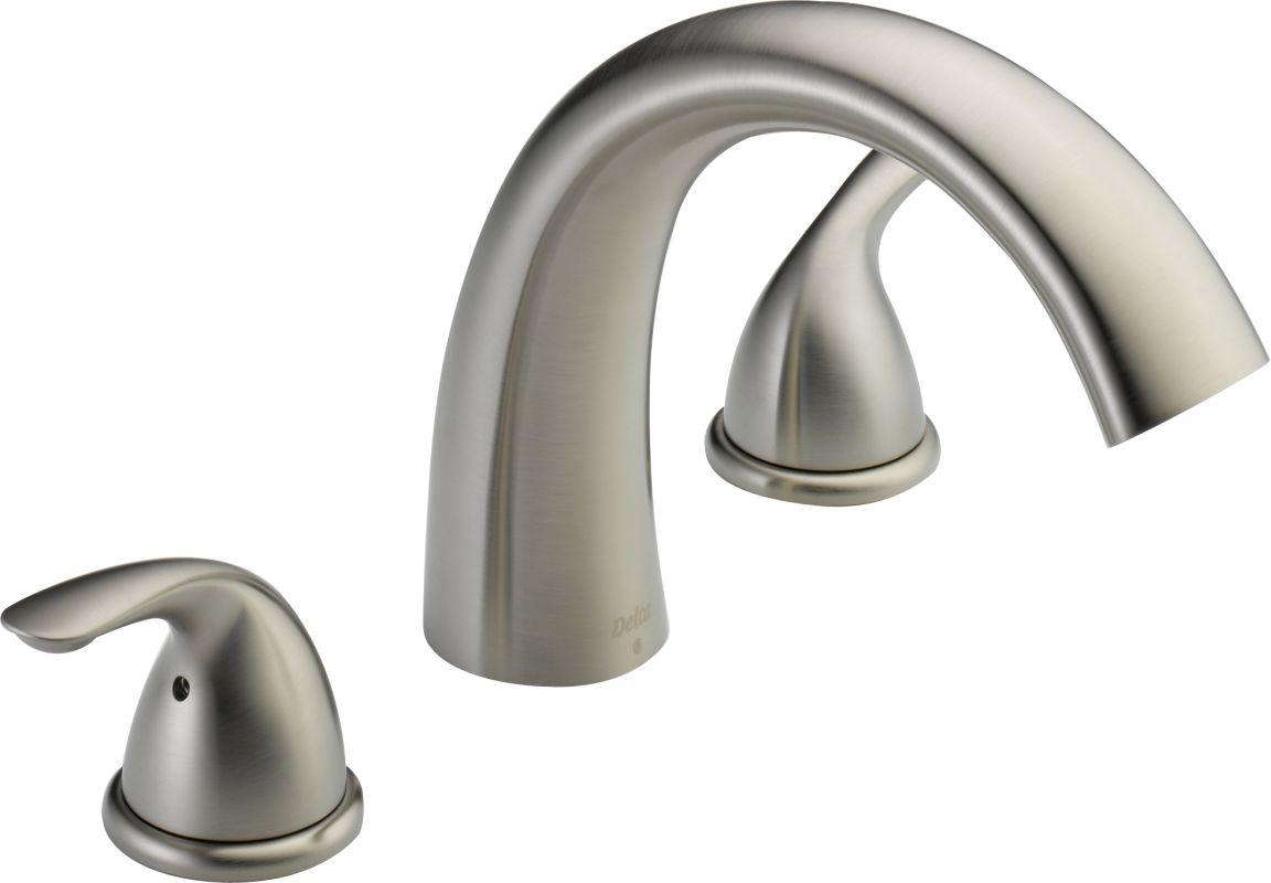 Delta T2705 Roman Tub Faucet - Build.com