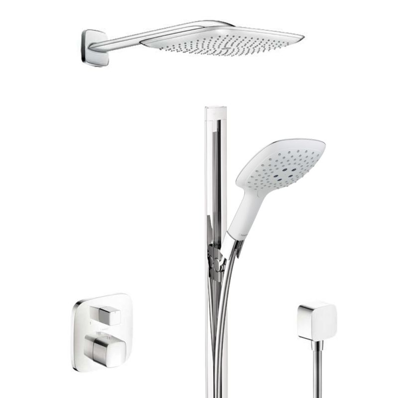 hansgrohe hg t304 shower system. Black Bedroom Furniture Sets. Home Design Ideas