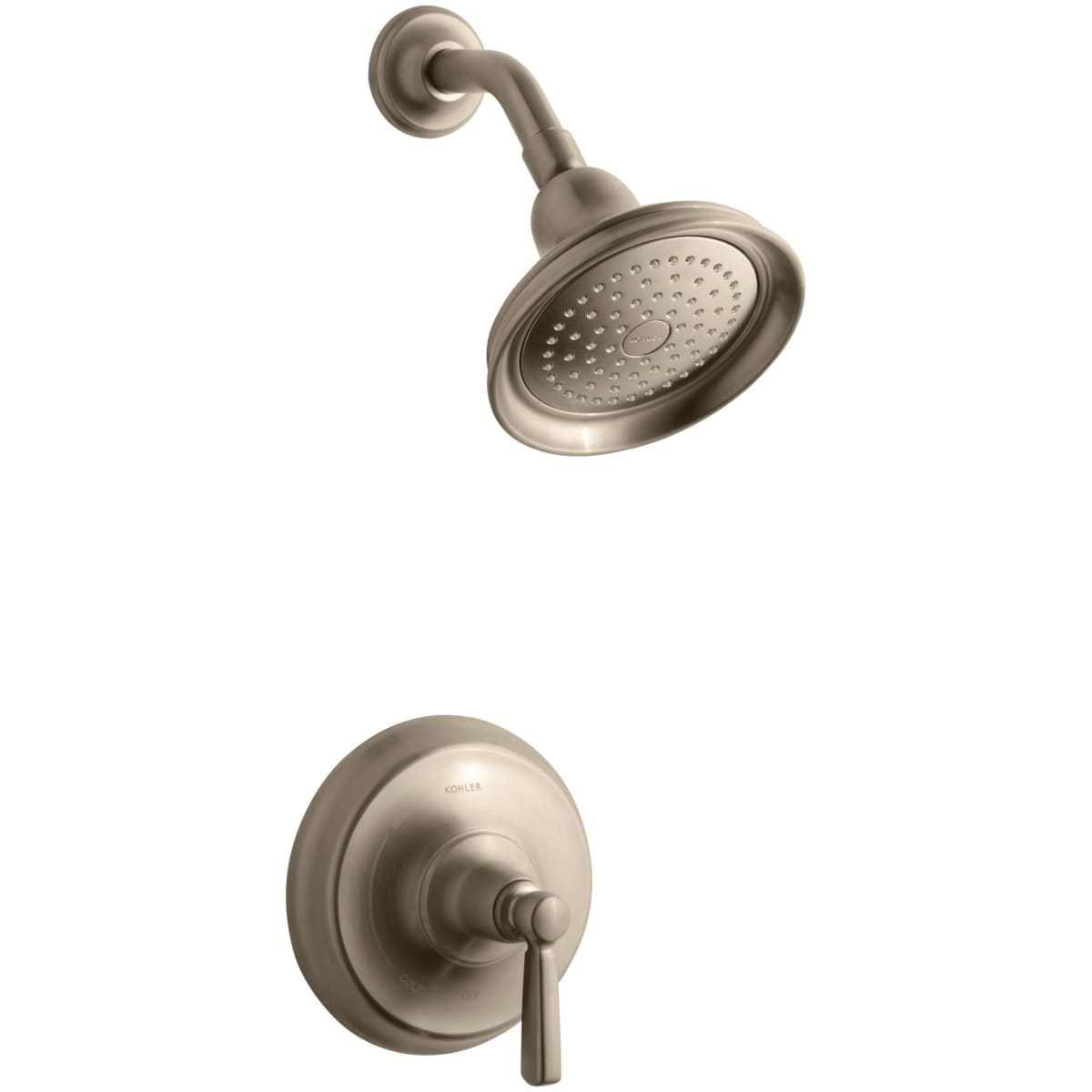 Kohler K T10583 4 Bv Brushed Bronze Single Handle Rite Temp