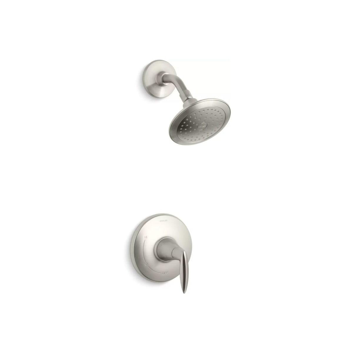 Less Showerhead Vibrant Brushed Nickel Trim Repair Kits