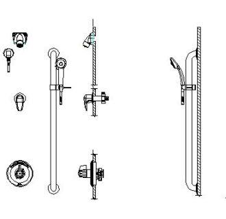 Delta Faucet T13H962 Universal Trim Chrome