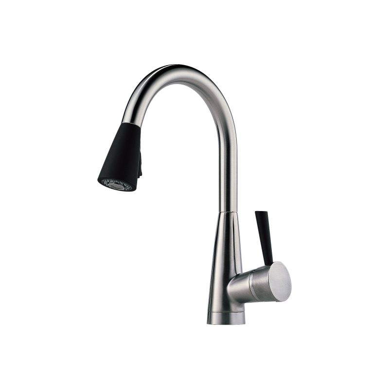 Faucet.com | 63070LF-BLST in Black by Brizo