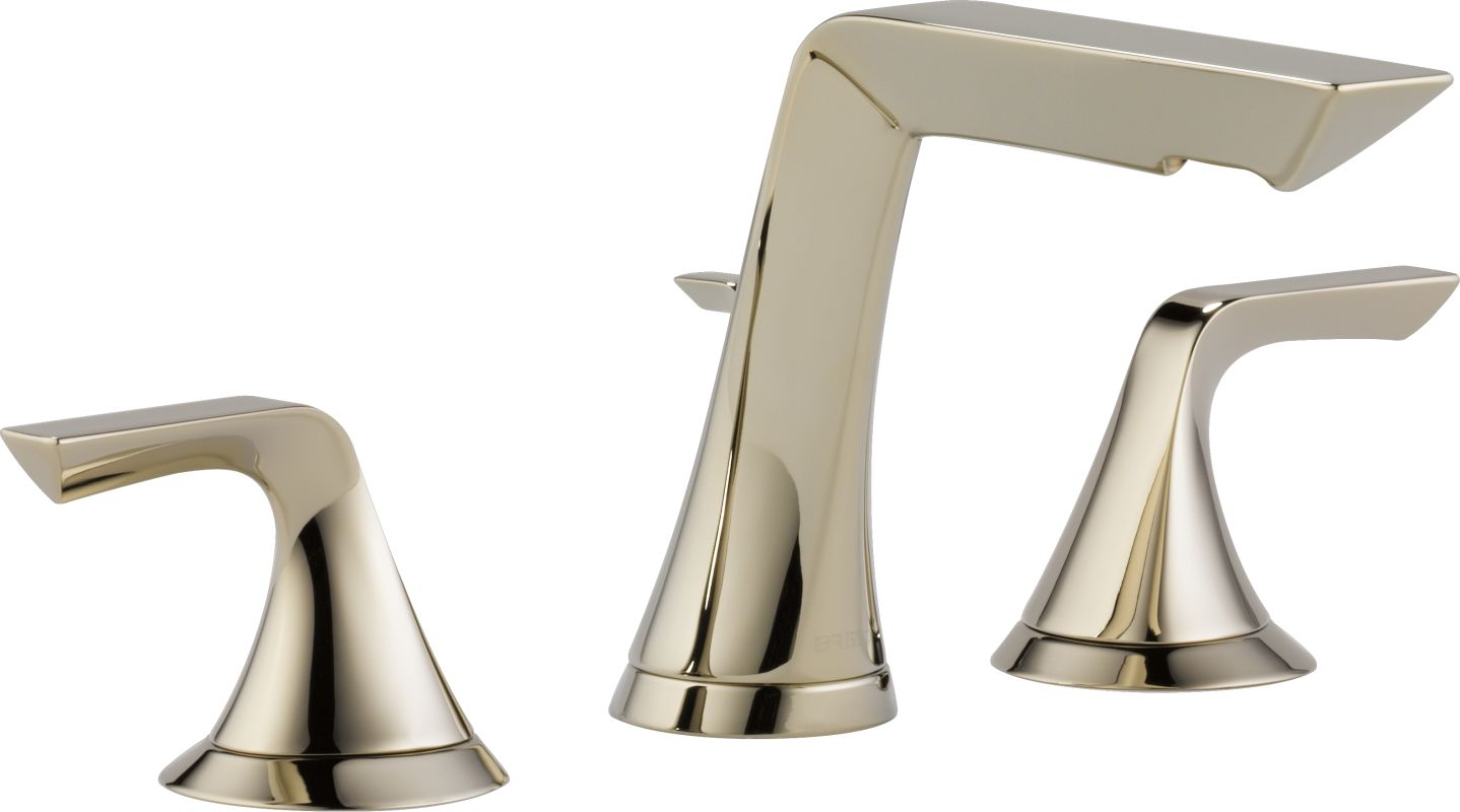 Brizo Bathroom Faucets Faucetcom 65350lf Pn In Brilliance Polished Nickel By Brizo