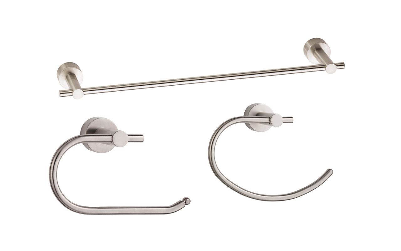 Danze Bathroom Accessories Faucetcom Parma Good Accessory Pack 2 Bn In Brushed Nickel By Danze