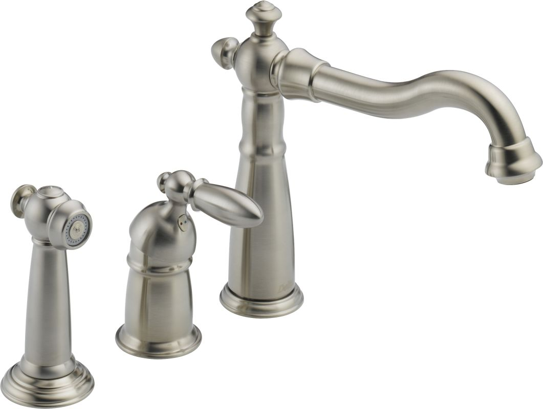 Delta Kitchen Faucets Warranty Faucetcom 155 Ss Dst In Brilliance Stainless By Delta