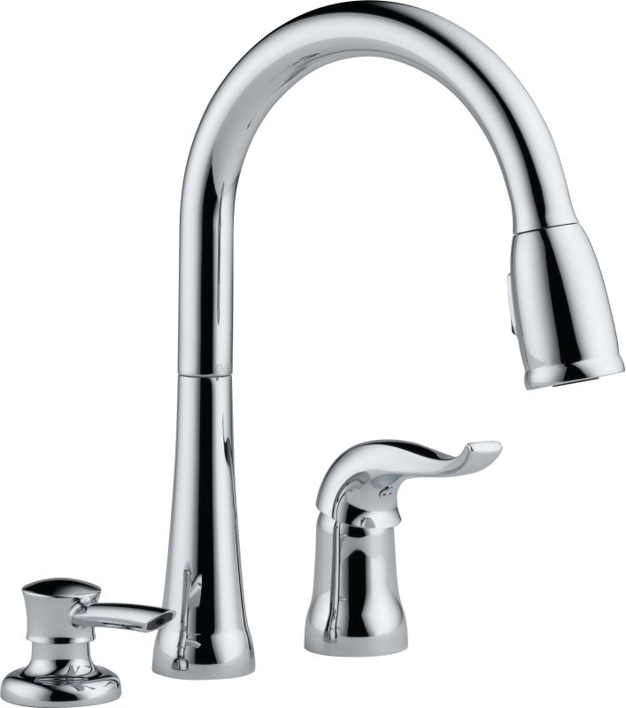 Faucet.Com | 16970-Sd-Dst In Chrome By Delta