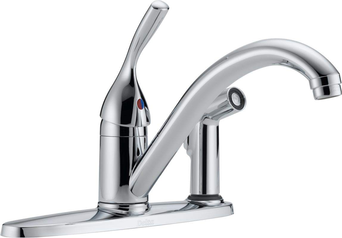 Delta Kitchen Faucets Warranty Faucetcom 300 Dst In Chrome By Delta