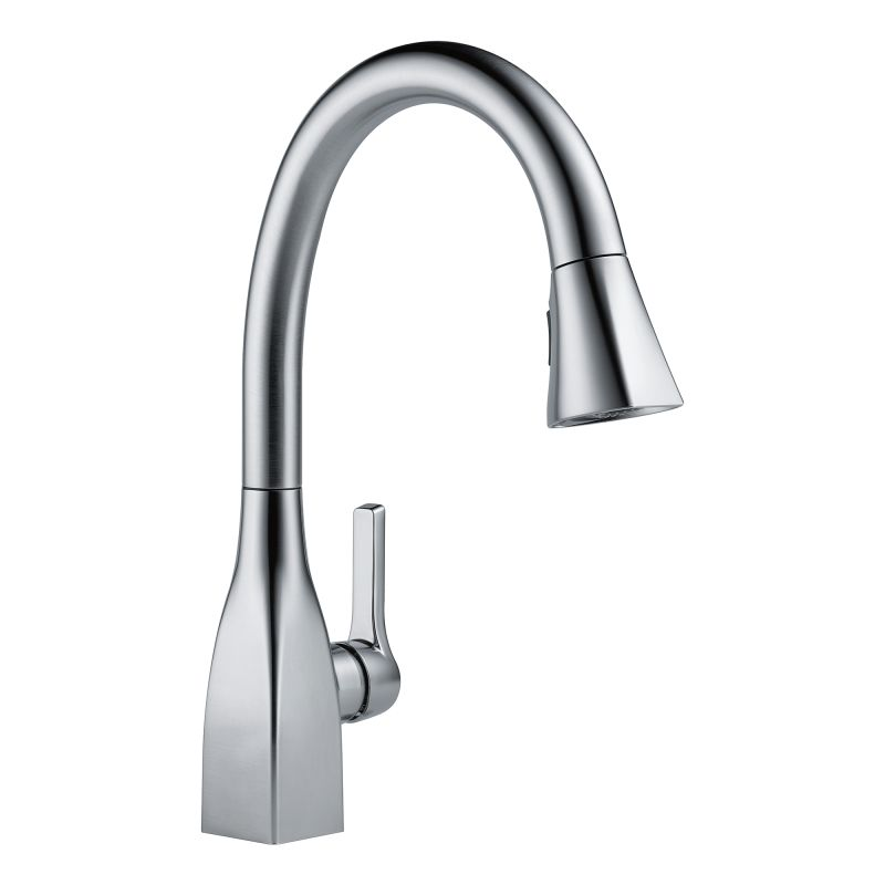 faucet | 9183-ar-dst in arctic stainlessdelta