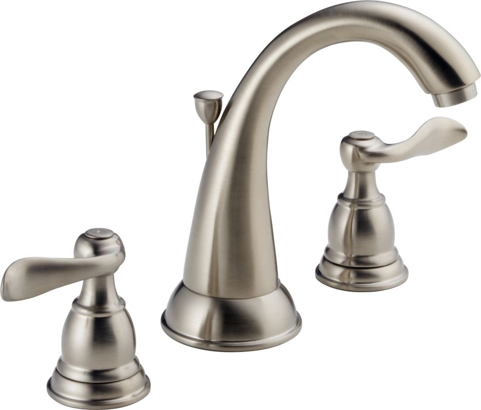 Bathroom Faucets Lifetime Warranty faucet | b3596lf-ss in brilliance stainlessdelta