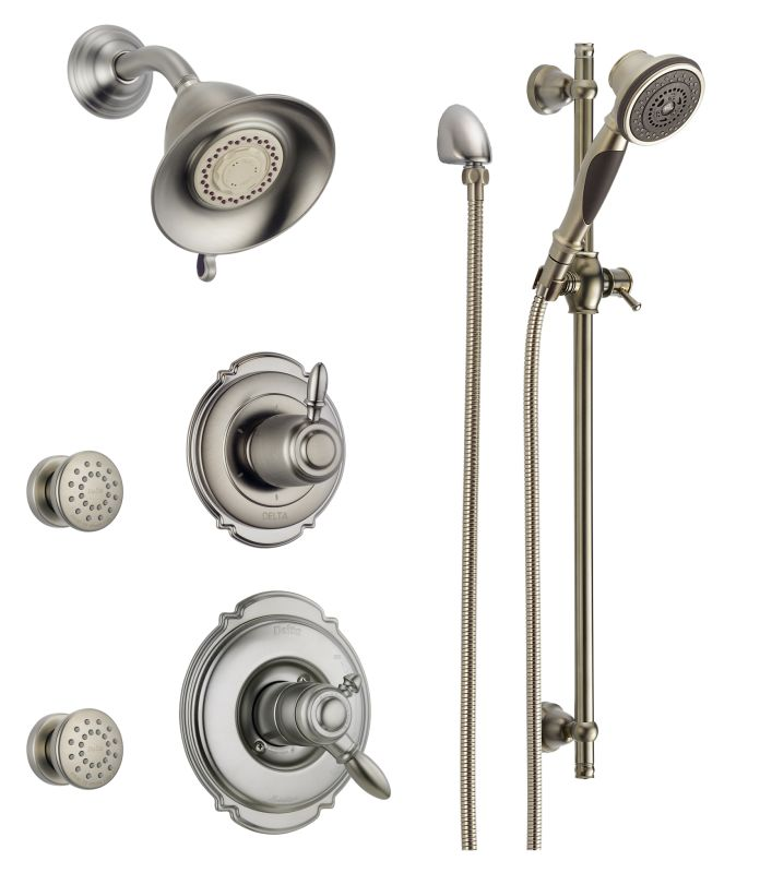 Faucet.com | DSS-Victorian-1703SS in Brilliance Stainless by Delta