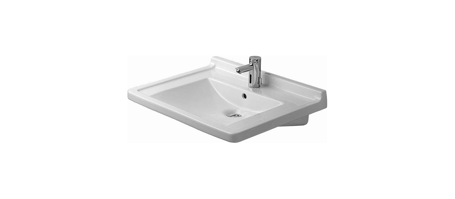 Duravit Bathroom Sink Faucetcom 0309700000 In White By Duravit