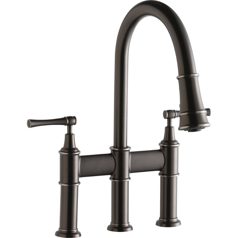 Faucet.com | LKEC2037AS in Antique Steel by Elkay