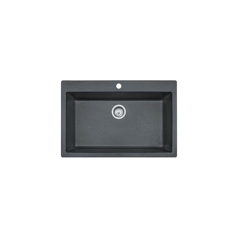 Faucet.com | DIG619091-GRA in Granite Graphite by Franke