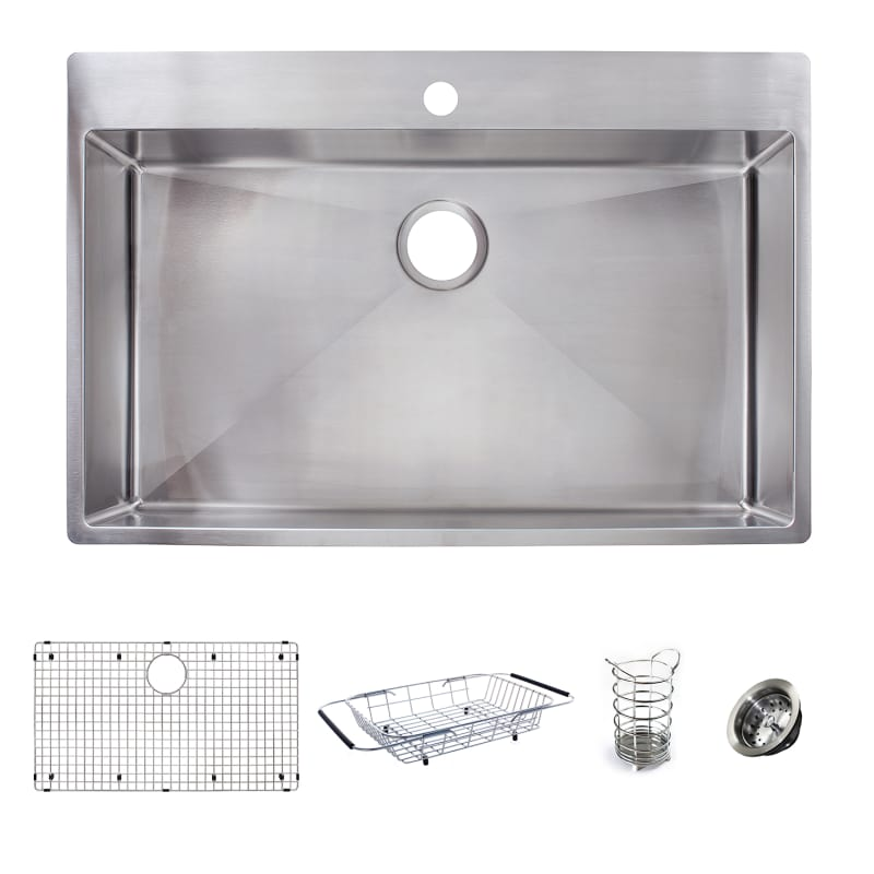 Faucet.com | HFS3322-1KIT in Stainless Steel by Franke