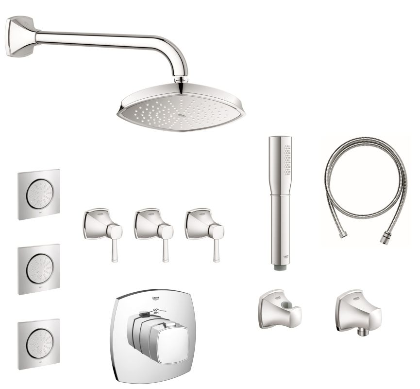 click to view larger image - Grohe Shower Head