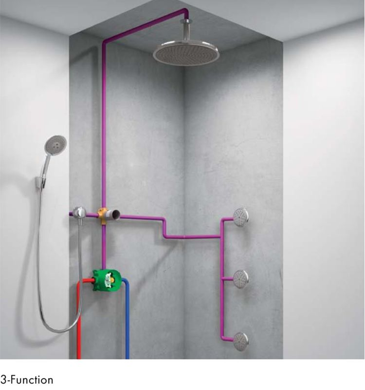 Fabulous Hansgrohe 01850181 N/A iBox Universal Plus Rough In Valve with KX93