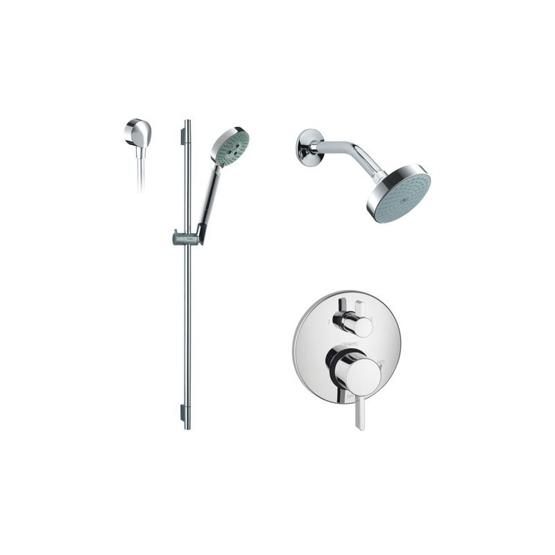 Faucet com   HG PB201000 in Chrome by Hansgrohe. Black Shower Head And Faucet. Home Design Ideas