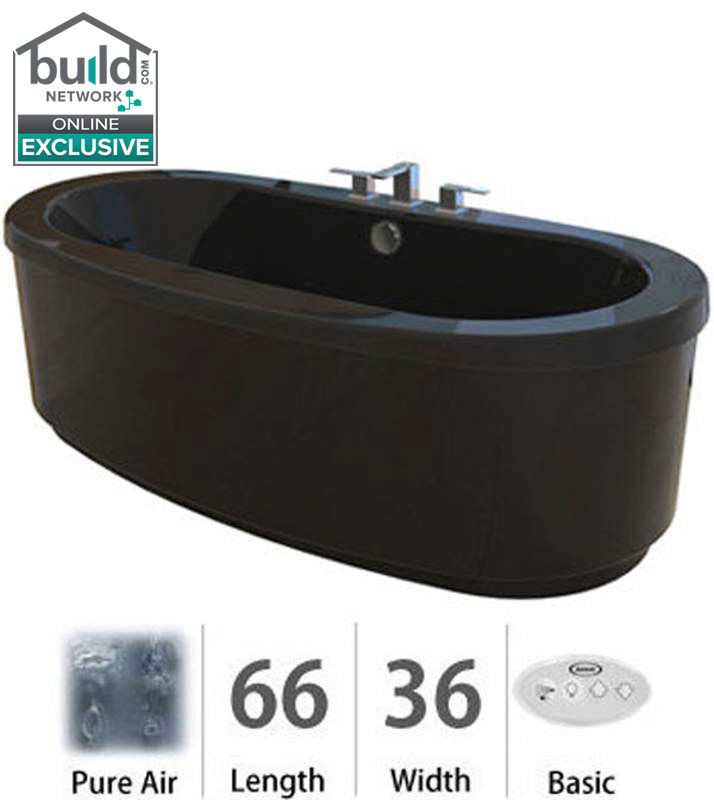 Faucet.com | BRF6636ACX2XXB in Black by Jacuzzi
