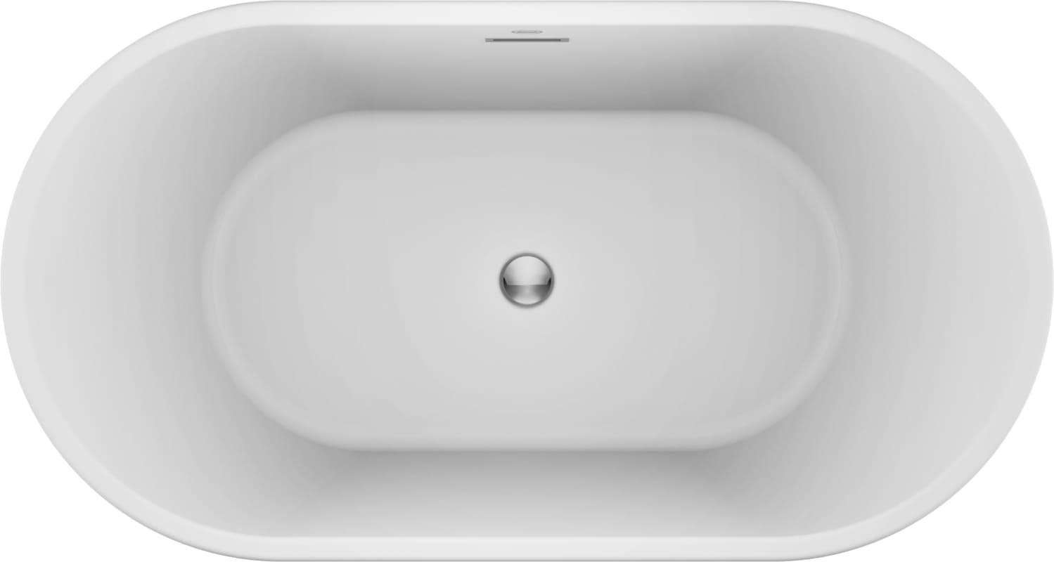 Faucet.com | CEF5932BCXXXXW in White / Chrome Trim by Jacuzzi