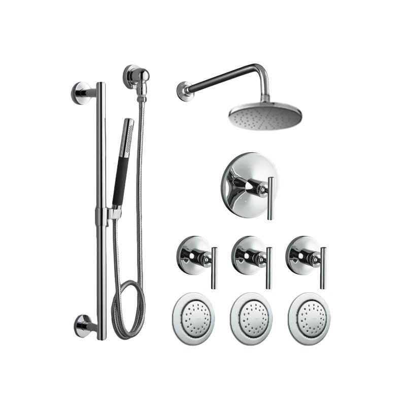 Faucet.com | K-PURIST-SHWR-SYSTEM-3BS-CP in Polished Chrome by Kohler