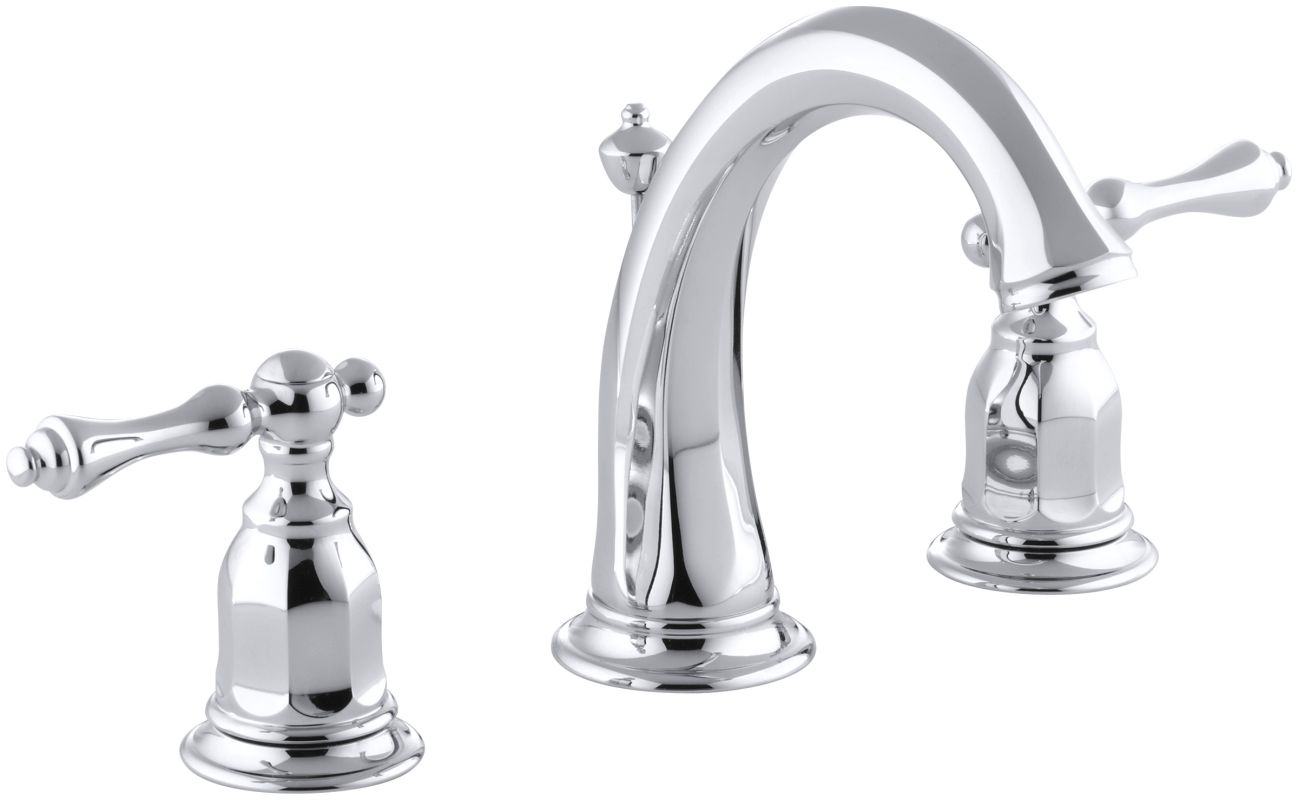 Faucet.com | K-13491-4-CP in Polished Chrome by Kohler
