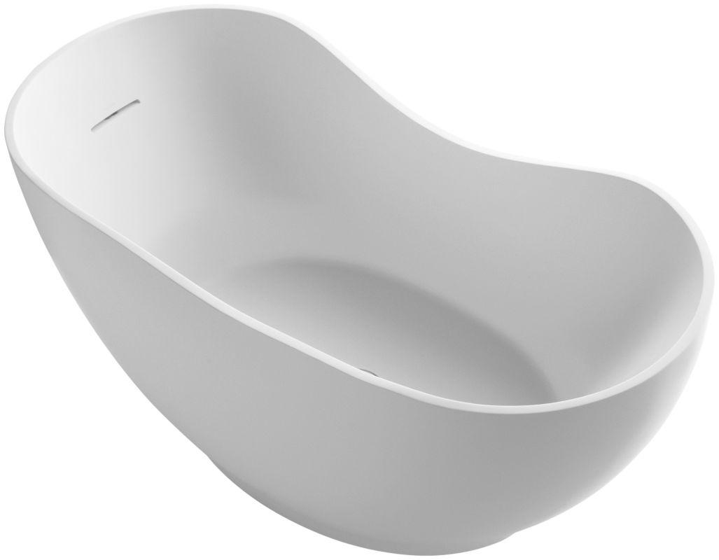 Faucet.com | K-1800-HW1 in Honed White by Kohler