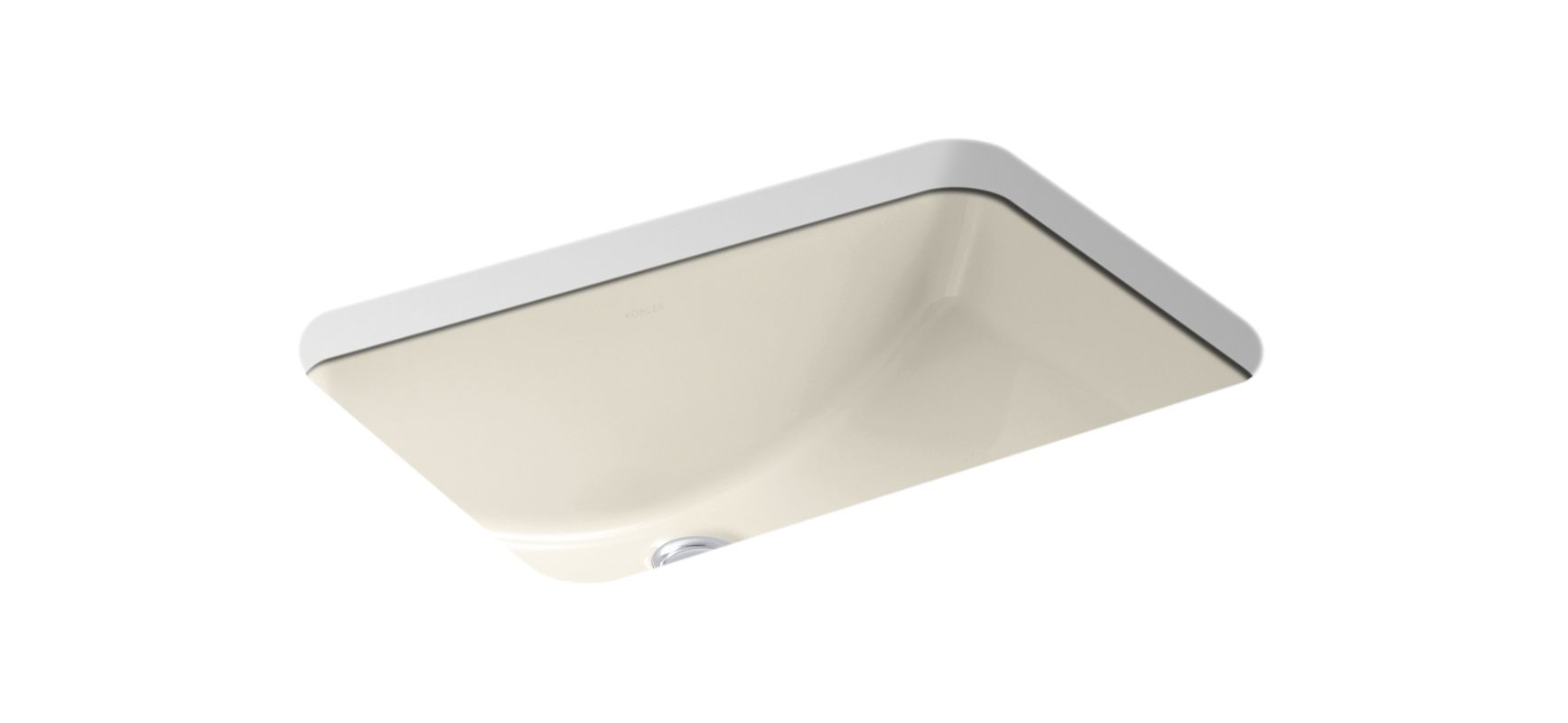 K 2214 47 in almond by kohler Kohler ladena undermount bathroom sink