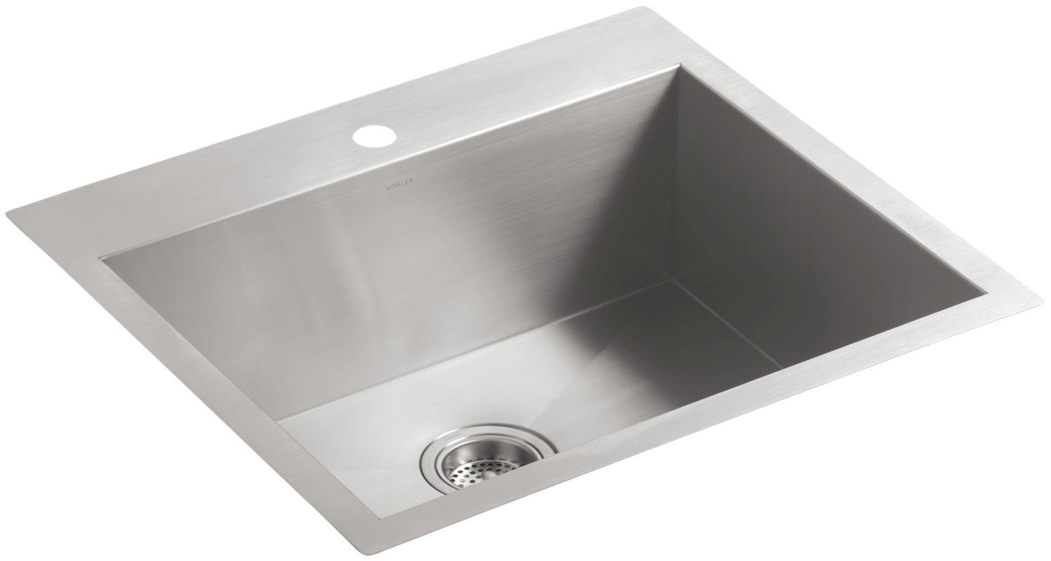 Kohler Stainless Steel Kitchen Sinks faucet | k-3822-1-na in stainless steelkohler
