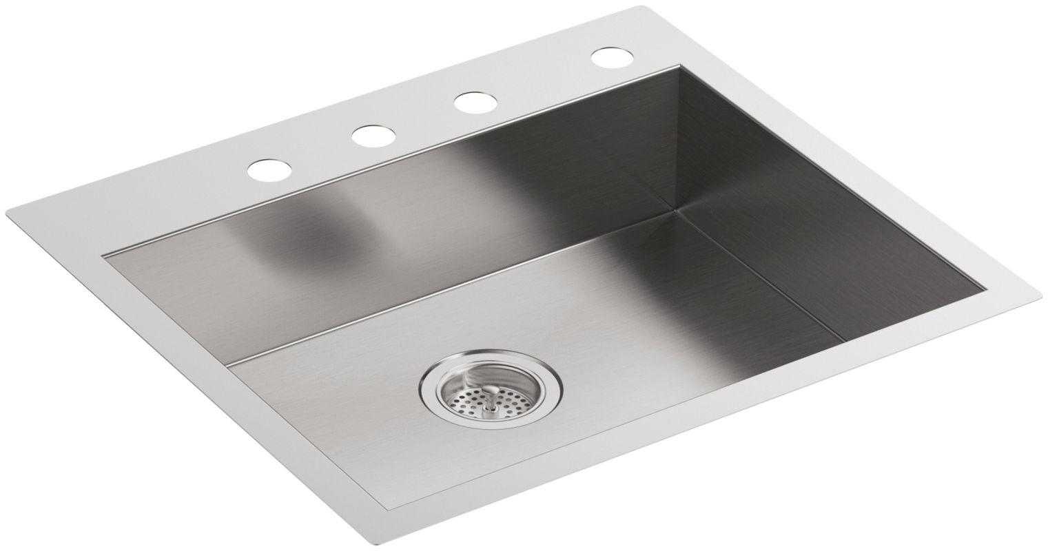 Kohler Stainless Steel Kitchen Sinks faucet | k-3894-4-na in stainless steelkohler
