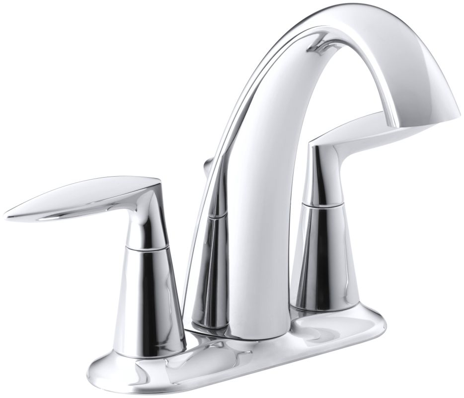 faucet | k-45100-4-cp in polished chromekohler