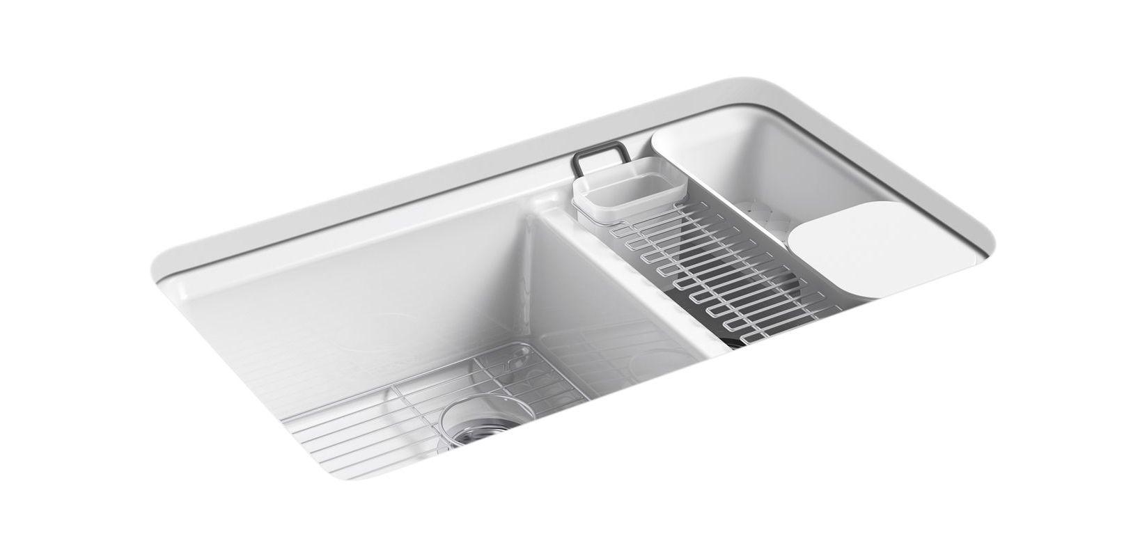 faucetcom k 8669 5ua3 0 in white by kohler - Kohler Sple Dienstprogramm Rack