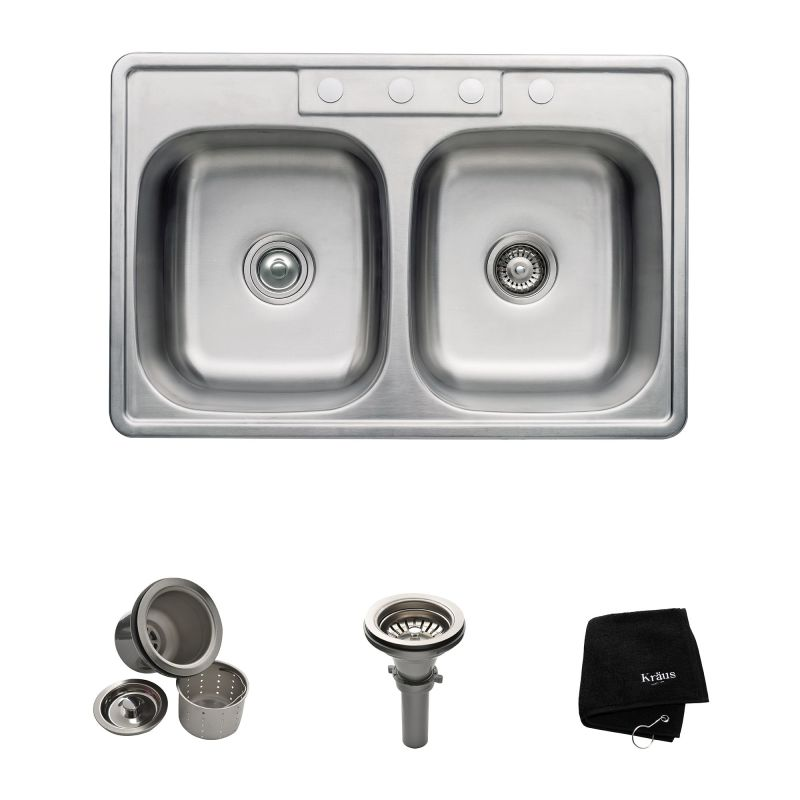 Pull down faucet installation