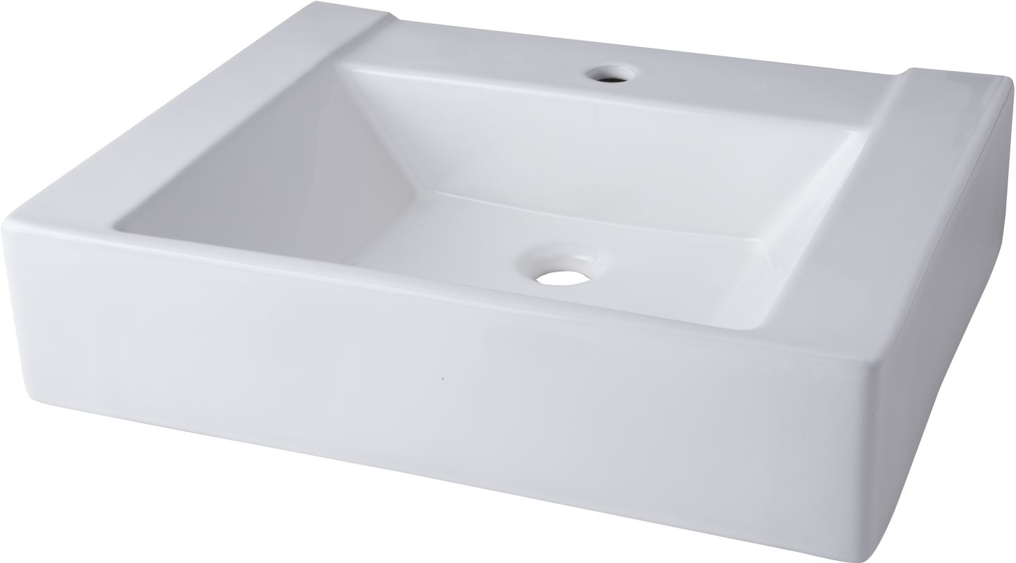 Mirabelle Undermount Bathroom Sink faucet | mir24191awh in whitemirabelle