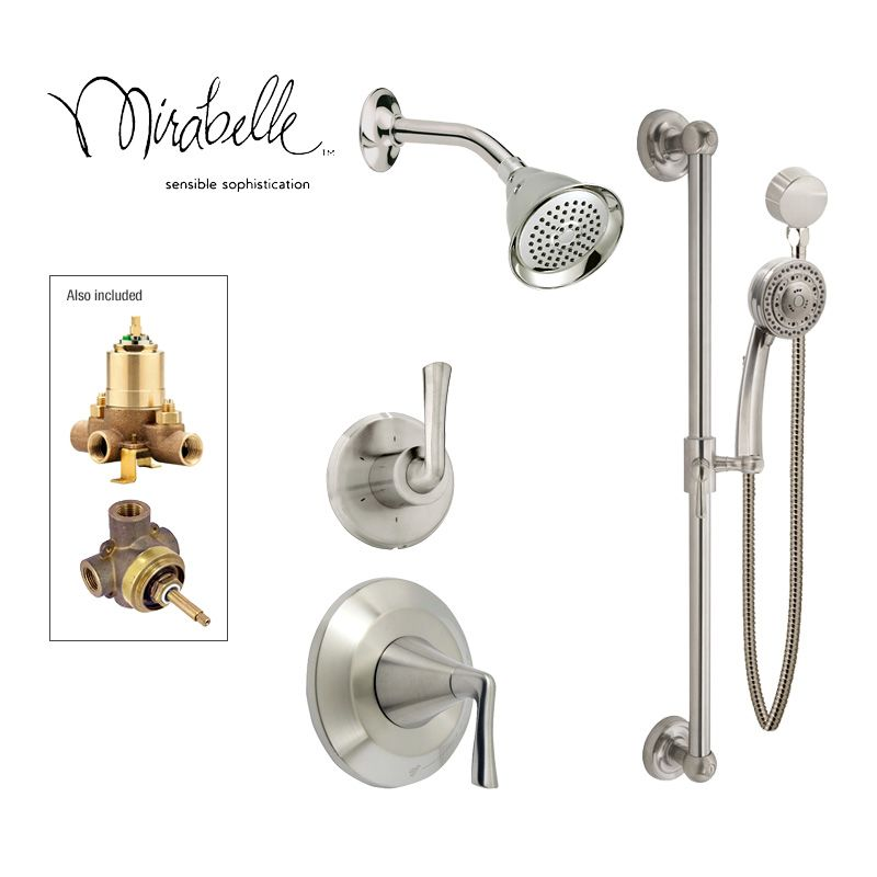 Faucet.com | in Brushed Nickel by Mirabelle