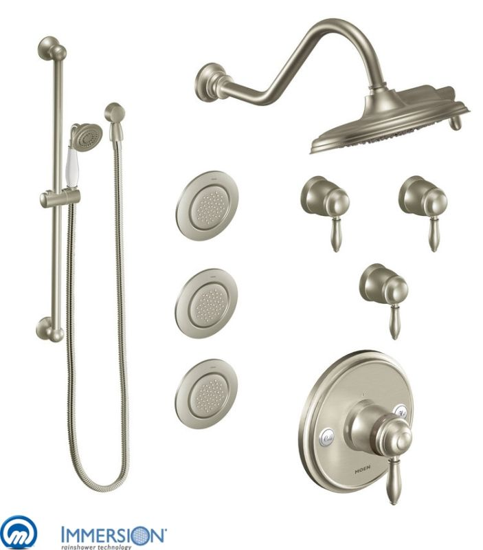 Faucet.com | 3096BN in Brushed Nickel by Moen