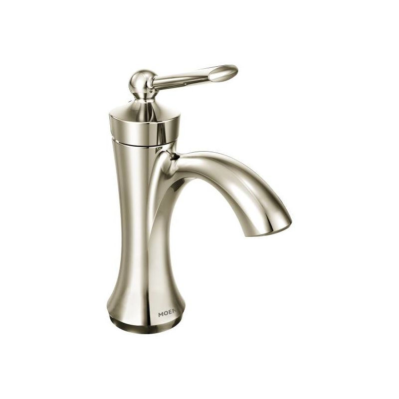 contemporary bath faucets brushed nickel