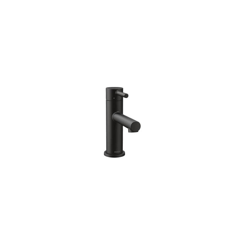 Bathroom Faucet Matte Black faucet   6190bl in matte blackmoen