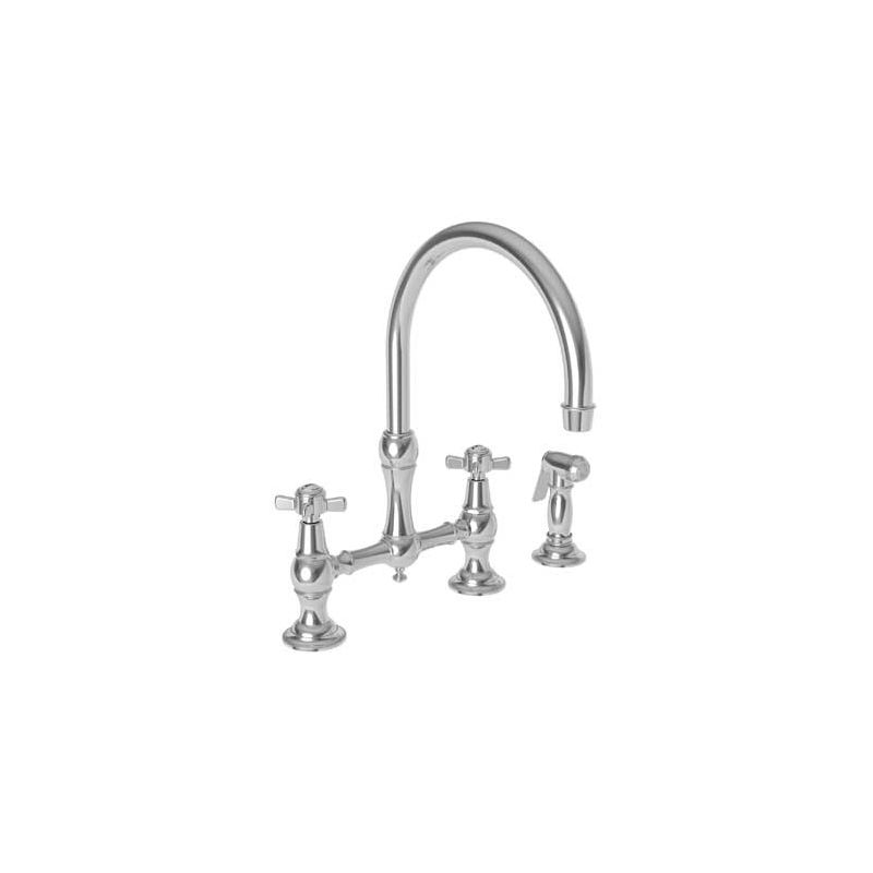 Newport Brass Kitchen Faucet: 9456/26 In Polished Chrome By Newport Brass