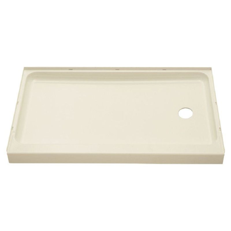 72171120 96 in biscuit by sterling - 30 x 60 shower pan ...
