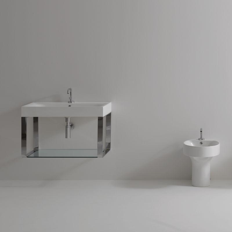 cento 3532 9125k2 in white polished chrome by ws bath