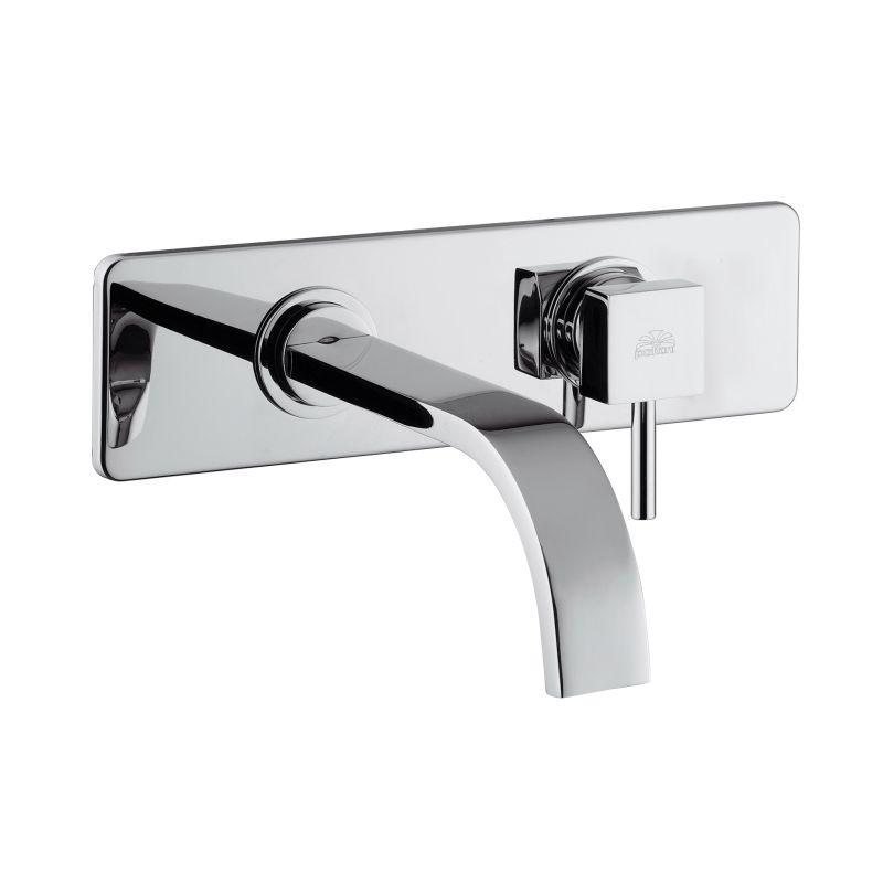 Faucet.com | Level LEA 101 CR in Polished Chrome by WS Bath ...