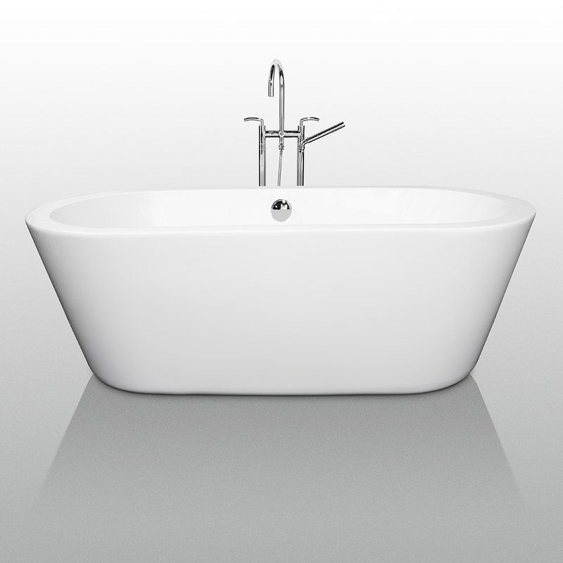 Faucet.com | WCOBT100367 in White by Wyndham Collection