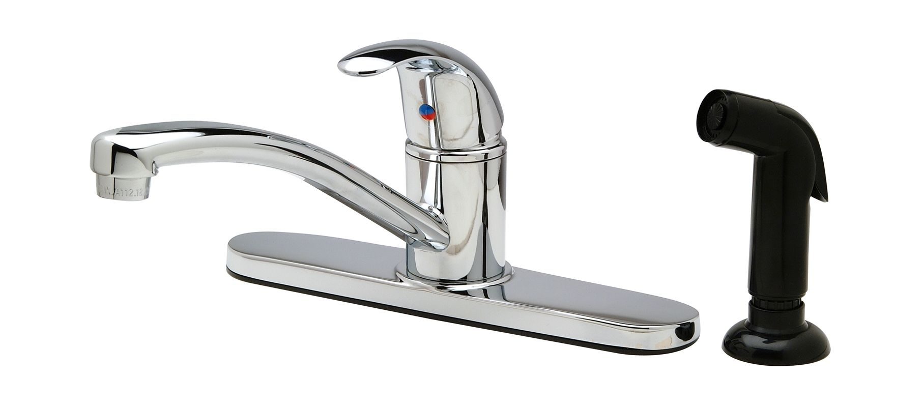 100 Kitchen Faucets Com Glacier Bay Single Handle Standard Kitchen Faucet In Stainless