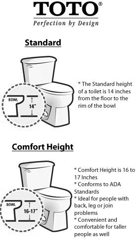 bowl height
