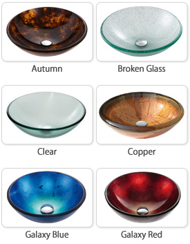 Kraus Vessel Sinks Are Available In Over A Dozen Beautiful Colors. Here Are  Some Examples: