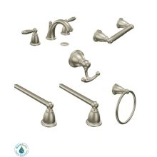 Moen Brantford Faucet and Accessory Bundle 4