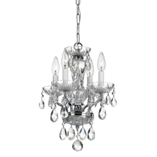 Crystorama Lighting Group 5534 Cl Saq